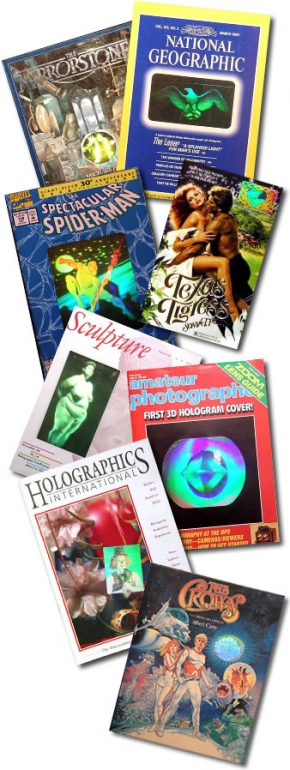 Holograms in Print