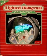 LIGHTED HOLOGRAM ORNAMENT